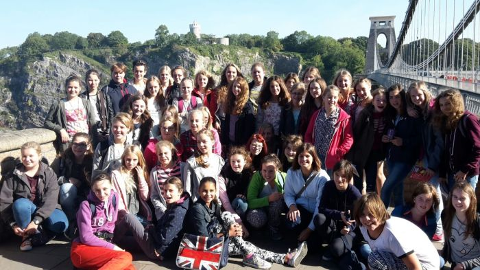 Gruppenfoto Clifton Suspension Bridge 2015